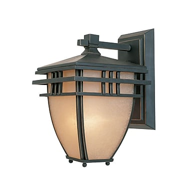 Designers Fountain Dayton Outdoor Wall Lantern; 10.75'' H x 6.5'' W