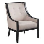 Wildon Home   Habitat Cyrano Arm Chair; Fabric Linen-Look