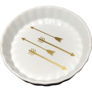 With Love Louise Arrow Trinket Dish; Gold