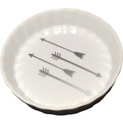 With Love Louise Arrow Trinket Dish; Silver