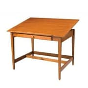 Alvin and Co. Vanguard Drawing Room Wood Drafting Table; Birch