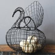 Creative Co-Op Abundant Blessings Turkey Basket
