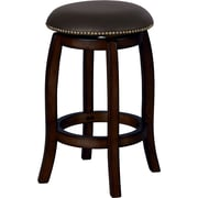 ACME Furniture Chelsea 29'' Swivel Bar Stool w/ Cushion; Espresso