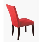 ACME Furniture Baldwin Parson Chair (Set of 2); Red
