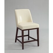 ACME Furniture Valor Bar Stool (Set of 2); Ivory