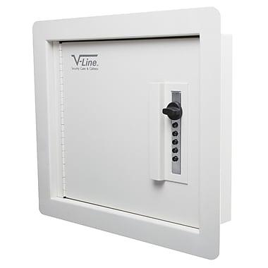 V-Line Quick Vault Wall Safe 0.2 CuFt