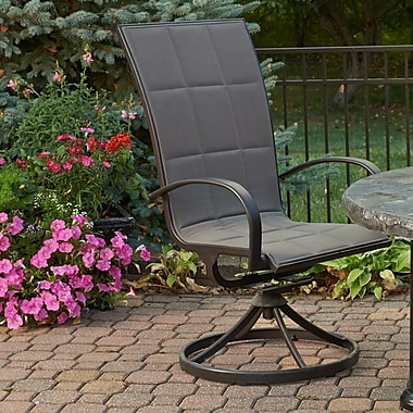 The Outdoor GreatRoom Company Empire Dining Chair (Set of 2)
