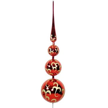 Queens of Christmas Finial Tree Topper Ornament