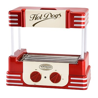 Nostalgia Electrics Retro Hot Dog Roller WYF078277387582