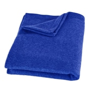 Brite Ideas Living Top Stitched Throw; Royal Blue