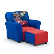KidzWorld Disney's Cars 2 Kids Club Chair and Ottoman