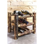 Montana Woodworks  Glacier Country 9 Bottle Tabletop Wine Rack