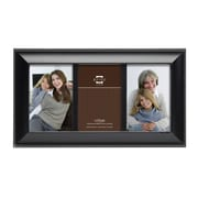 Prinz 3 Opening Mandalay Solid Wood Picture Frame; Back