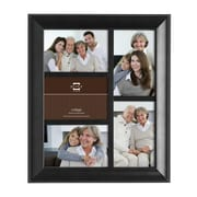 Prinz 5 Opening Mandalay Solid Wood Picture Frame; Black