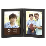 Prinz 2 Opening Sonoma Hinged Wood Picture Frame; 4'' x 6''