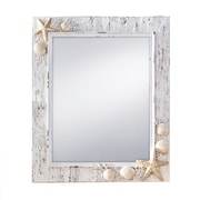 Prinz Sand Piper Wall Mirror; 11'' x 13''