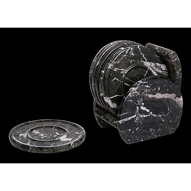 Marble Products International Green Zebra Coaster (Set of 6)