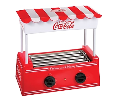 Nostalgia Electrics Coca-Cola Series Hot Dog Roller WYF078276192458