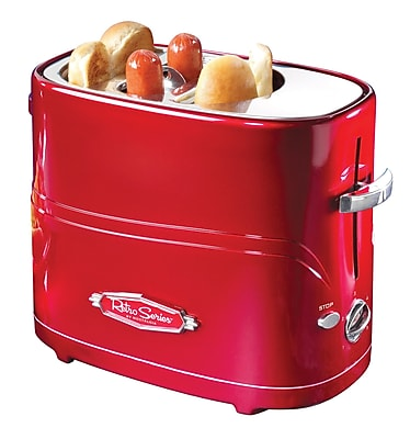Nostalgia Electrics Retro Series Pop-Up Hot Dog Toaster WYF078276192459