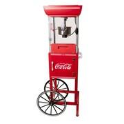 Nostalgia Electrics 2.5 Oz. Coca-Cola Series Old Fashioned Movie Time Popcorn Cart