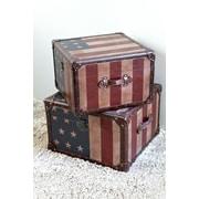 International Caravan Americana Trunk (Set of 2)