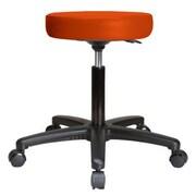 Perch Chairs & Stools Height Adjustable Swivel Stool; Orange Kist Vinyl