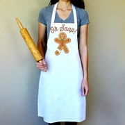 Love You A Latte Shop 100pct Cotton Oh Snap Gingerbreak Apron