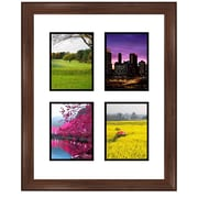 Frames By Mail 4 Rectangle Opening Collage Picture Frame; 8'' x 6''