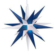 Kringle Traditions LED Moravian Star; White/Blue