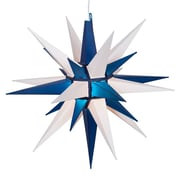 Kringle Traditions LED Moravian Star; Blue/White