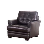 Abbyson Living Cooper Top-Grain Leather Armchair