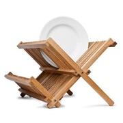 Axis International Bamboo Folding Dish Rack
