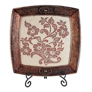 OK Lighting Floral Charger w/ Stand