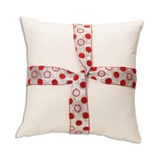 Brite Ideas Living Magnum Tie Ribbon Throw Pillow