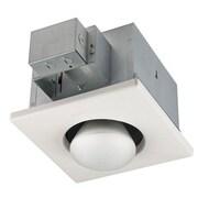 BQNU 250 Watt Ceiling Mounted Electric Fan Heater w/ Infrared Bulb