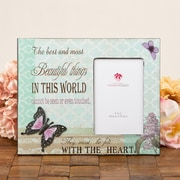 FashionCraft Beautiful Things Butterfly Picture Frame