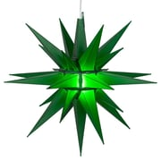 Kringle Traditions LED Moravian Star; Green