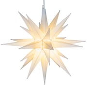 Kringle Traditions LED Moravian Star; White