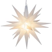 Kringle Traditions LED Moravian Star; Frosted White