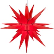 Kringle Traditions LED Moravian Star; Red