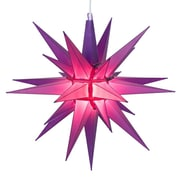 Kringle Traditions LED Moravian Star; Purple