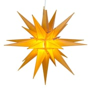 Kringle Traditions LED Moravian Star; Gold