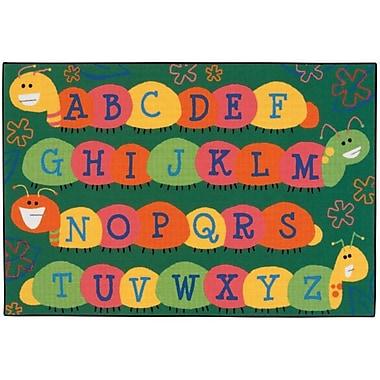 Kids Value Rugs Caterpillar Friends Kids Rug; 3' x 4'6''
