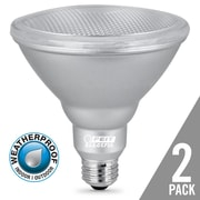 Feit Electric 14W E26 LED Light Bulb Pack of 2; 3000K