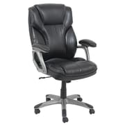 Barcalounger Leather Executive Chair; Black