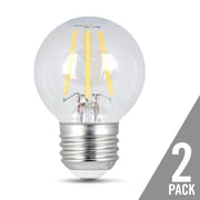 Feit Electric E26 LED Light Bulb pack of 2; 4.5W