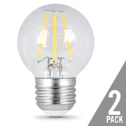 Feit Electric E26 LED Light Bulb pack of 2; 6W