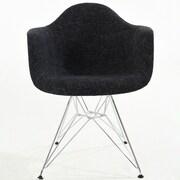 Edgemod Padget Arm Chair; Black