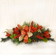 Floral Home Decor Amaryllis Christmas Centerpiece