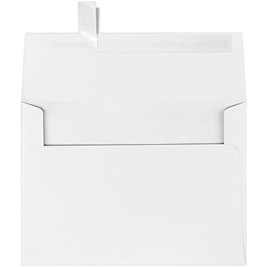 LUX A7 Invitation Envelopes (5 1/4 x 7 1/4) 250/Box, 60lb. White w/Peel & Press (4880-WPP-250)